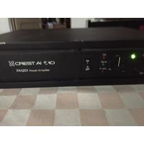 Amplificador De Audio Profesional Marca Crest