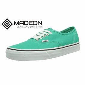 zapatillas vans verde claro