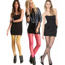 Meia-calça Arrastão Fashion *várias Cores* Sexy Moda