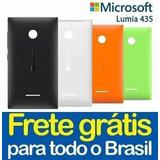 Tampa Microsoft Lumia 435 N435 Capa Traseira Varias Cores!!