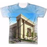 Camisa Camiseta Personaliza Templo De Salomão Iurd Evangelic