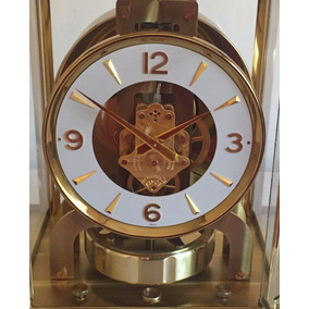 Reloj De Mesa Baby Atmos Jaeger Lecoultre En Caja Original