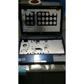 Carcaça Completa Netbook Acer Aspire 1410 Serie (azul)+peças