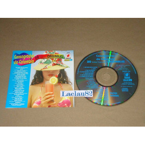 Consagradas De Colombia 20 Exitos Tropicales 1995 Balboa Cd