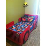 Camas En Forma De Carro Para Niños