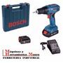Taladro Atornillador Inalambrico Bosch Gsr 1800li 2 Baterias