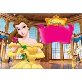 Kit Imprimible Princesa Bella Cumpleaños Fiesta Torta