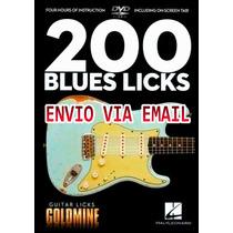 Video Aula 200 Guitar Licks De Guitarra Blues