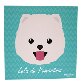 Quadro Hellopet Minipets Lulu Da Pomerania