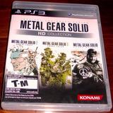 Videojuego Metal Gear Solid Hd Collection Ps3 Nuevo Sellado