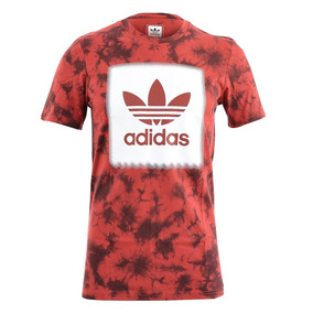 Remera adidas Originals Ny Photo Rojo Hombre