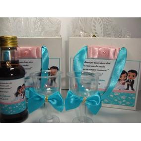 12 Mini Vinho Personalizado Padrinhos, Madrinhas 2 Tacinhas