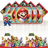 Super Mario Bros Nintendo De Cumpleaños De Los Niños Comple