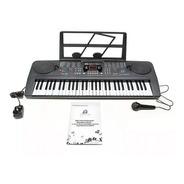 Teclado Musical Organo 61 Teclas Display Lcd Tonos 5 Octavas