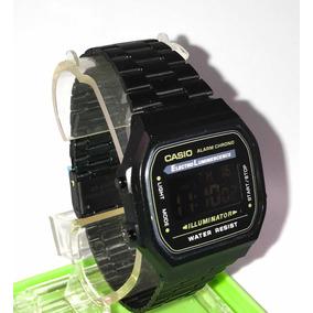 Reloj Casio Negro Mate Vintage Envío Gratis