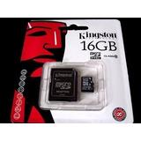 Memória Micro Sd Kingston 16gb Original