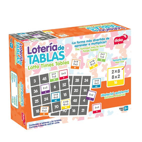 Juego didactico de tabla en mercado libre mxico lotera de tablas juego didctico biy bu 36004 colibrgames urtaz Choice Image