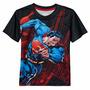 Polo Dc Comics Para Niños Diseño De Superman Usa Importados