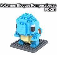 Squirtle Pokemon Lego Mini Blocks Rompecabezas Armable