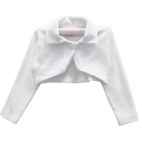 Bolero Infantil Menina Plush Várias Cores Promoção