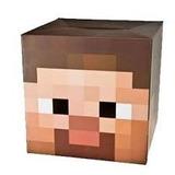 Cabeza De Minecraft Steve - Creeper Disfraz Cotillon