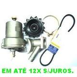 Kit Alternador + Arranque Motor Partida Vw Kombi Fusca Brasi