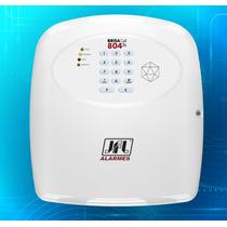 Kit Central De Alarme Brisa Cell 804 Jfl Com Discador Gsm