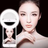 Anel Selfie Ring Light Flash P/ Celular Camera Luz Led