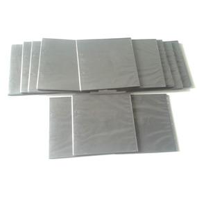 12 Estuches Plasticos Negros Dvd Cd Sencillos Tamaño Pequeño