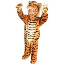 Disfraz De Lujo Nino Tigre
