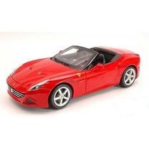 Burago - Ferrari California T (open Top) - Esc. 1:18 - Nuevo