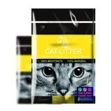 Piedras Sanitarias Para Gatos 5 Litros 4 Kilos Limón
