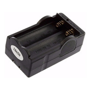 Cargador De Doble Ranura Para Baterias 18650 Litio Ion Brc