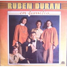Ruben Duran-en Familia-lp Vinilo-como Nuevo-envios Oca