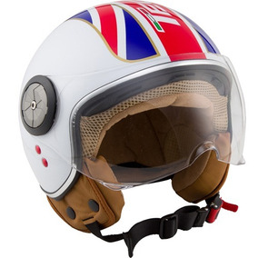 Capacete Aberto Tech3 Fashion Uk Inglaterra