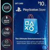 Tarjeta Playstation Psn 10 Dolares Codigo Digital Al Instant