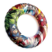 Boia Infantil Circular Marvel Avengers Praia Piscina Rio
