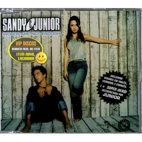 Sandy & Junior Cd Single Words Are Not Enought 4 Versões