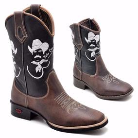 Bota Country Masculina Texana Rodeio Promocao Barata