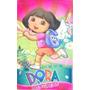 Toalha Dora Aventureira Banho Infantil Felpuda