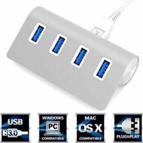 Hub 4 Puertos Usb 3.0 Mac Pc 5gbps Windows Macbook