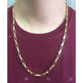 Corrente Cordão Cartier Grosso 60cm Masculino Ouro 18k