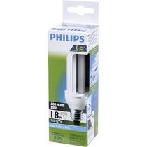 Lâmpada Eletrônica 3u 18w Branca 6000h 6500k 110v - Philips