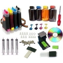 Bulk Ink Hp 2050 3050 D110 C4280 F4280 C4680 +400ml De Tinta