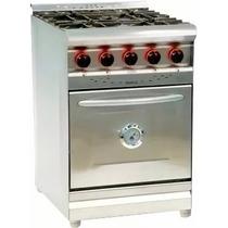 Cocina Morelli 600 Pta Ciega 4 Hornallas 61cm