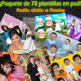 Plantillas En Psd Caritas, Bodas, Invitacion Y Xv Años.