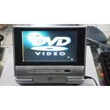 Dvd Portátil Venturer Para Carro Pvs1371 Para Reparar O Refa