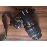 Cámara Nikon D3200 Con Funda Semiprofesional