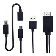Cable Ditron Adaptador Micro Usb Mhl A Hd Full  Solo 5 Pines