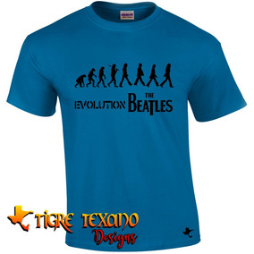Playera Bandas The Beatles Mod. 11 By Tigre Texano Designs